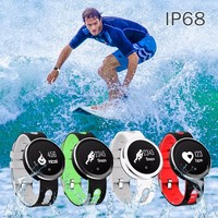 New Q7 IP68 Waterproof Bluetooth 4 0 Smart Band With Heart Rate Blood Pressure Sports Tracker