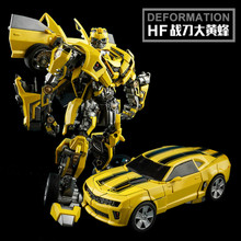 цена Weijiang Model Transformation BBumbleb M03 Battle Blades Alloy Action Figure Movie 5 Robot Car War Hornet Collection Toys Gift