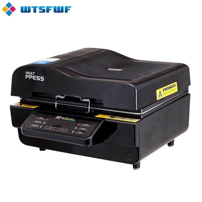 Freeshipping wtsfwf a3 ST 3042 3d sublimação impressora da imprensa de calor máquina da imprensa do calor para casos canecas placas vidros cerâmica madeira - 3