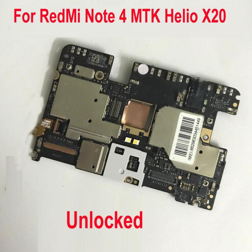 Déverrouiller la carte mère globale du micrologiciel pour Xiaomi Redmi Note4 Hongmi NOTE 4 carte mère