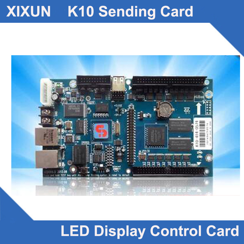 WIFI Cacasding card K10 with WIFI module asynchronous wifi viddeo control card support 640x480pixel