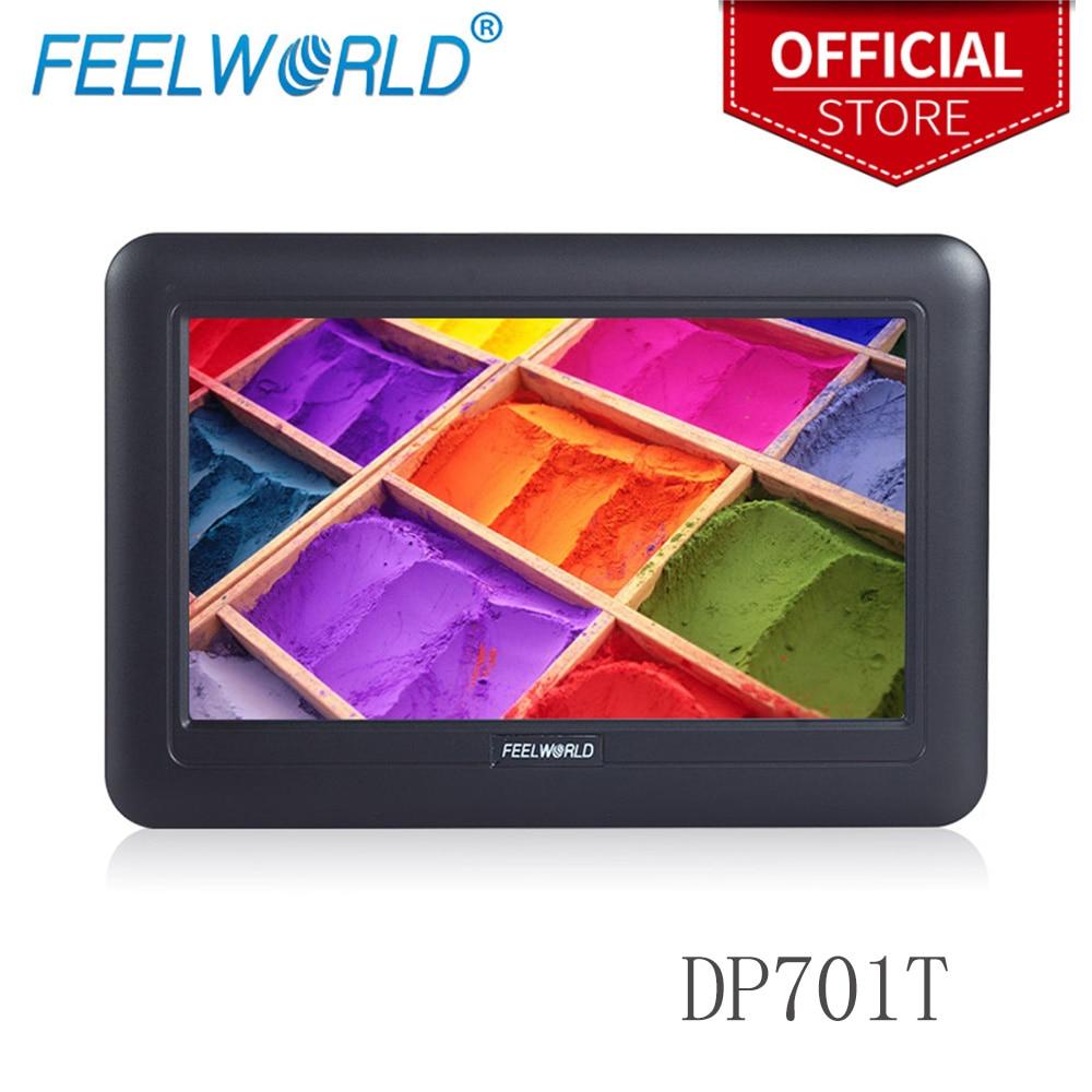Feelworld DP701T 7 pouces 800x480 TFT écran tactile USB moniteur avec support 7