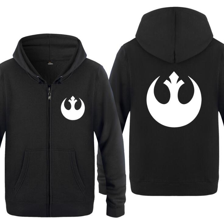 Noël 2017 ! Mens-Hoodie-Movie-Star-Wars-Rebel-Alliance-Logo-Hoodies-Men-Fleece-Long-Sleeve-Zipper-Jacket-Coat