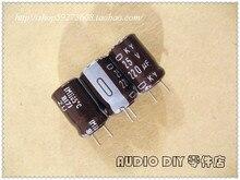 30 ШТ. Япония Химическая KY серии 220 мкФ/25 В электролитические конденсаторы бесплатная доставка
