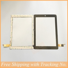 New price HI10 plus Tablet Panel Digitizer Glass Sensor Replacement with protector film