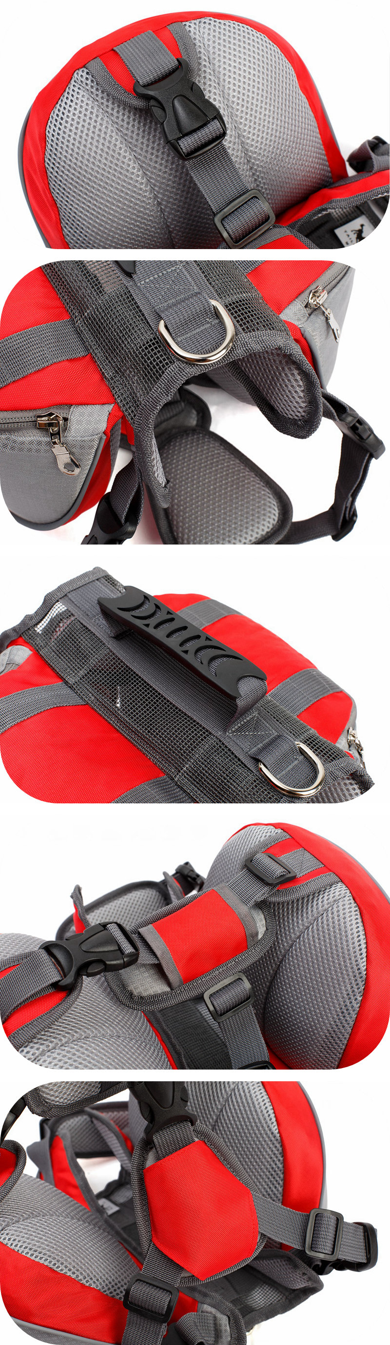 Dog Harness For Medium Dogs Puppy Harness Backpack Carrier Pet Vest Harness Outdoor Training Dog Harness For Small Dogs (4)__