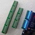 10pcs/lot 3-12V 6 Bits Blue LED Module Display indicator Board for Marquees Water lights Breadboard DUE UNO MEGA2560 MCU diy kit