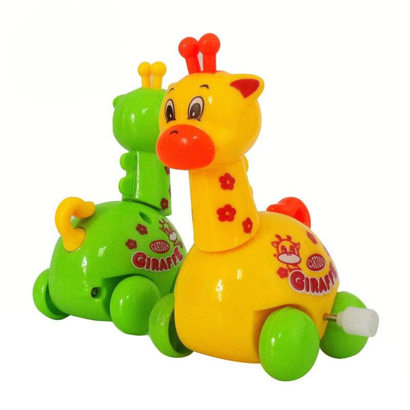 Clockwork Spring Wind-Up Toy Baby-Boys Kids Reborn Funny Giraffe-Design Running