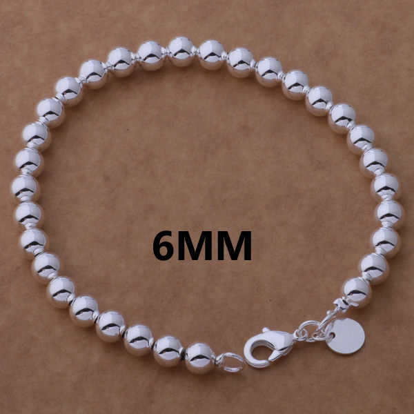 AH273 Hot 925 sterling silver bracelet, 925 sterling silver fashion jewelry 6mm Buddha beads /arhajioa bfjajwqa