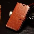 Samsung Galaxy Xcover 3 / G388F / X Cover3 4.8 '' caja de cuero de lujo Retro cubierta con marco de fotos tarjeta de bolsillo caso del soporte del tirón