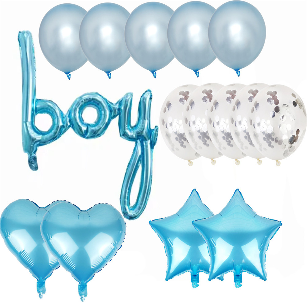 Cartoon Hat Boy Or Girl Sex Reveals Aluminum Balloon, Alphabet Balloon Suit, Gender Reveal Party Decoration Balloon Hat
