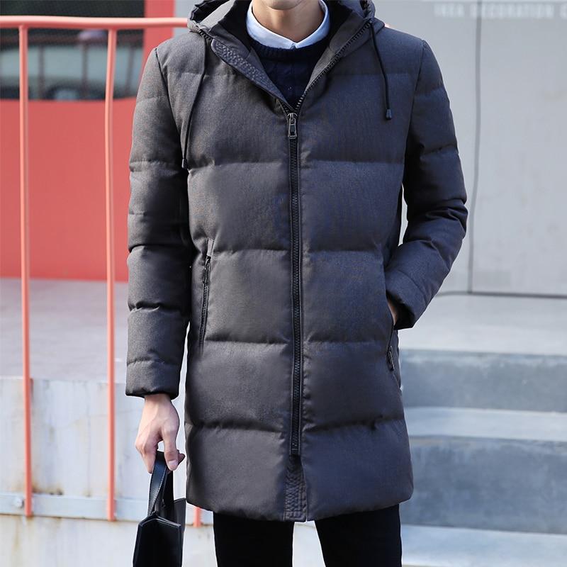 Winter Jacket and coat Men Long Jackets Keep Warm Coat Casual Men's thick Overcoat Jackets   parka   homme