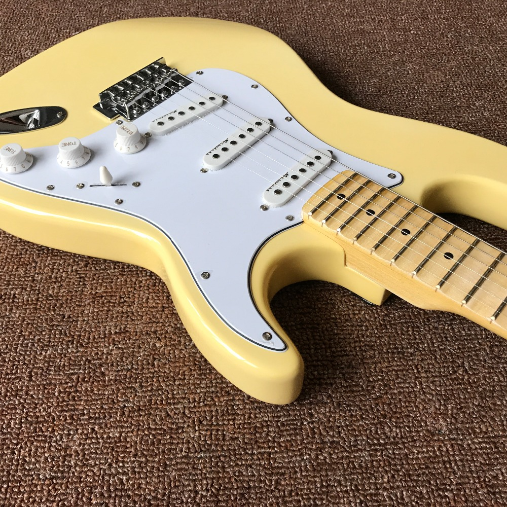 Scalloped Fingerboard Big Head stratocaster 6 string Electric Guitar custom-made Real photo shows scalloped fitted