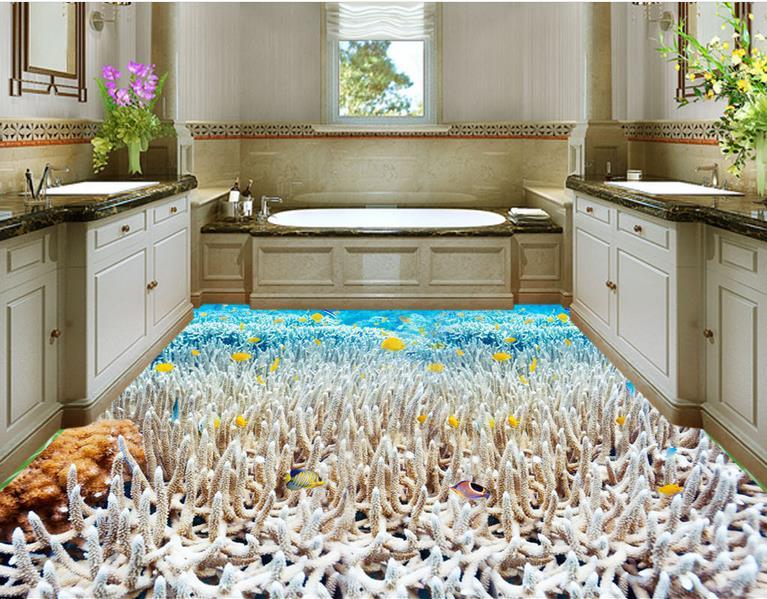 vinyl floor tile product vinyl floor tiles white coral wallpaper modern 3d flooring