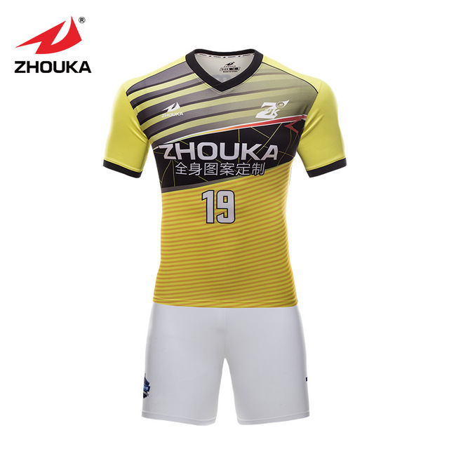 6d40218a052 Custom breathable kids adult soccer uniforms kits sublimation polyester  quick dry boys throwback football jerseys