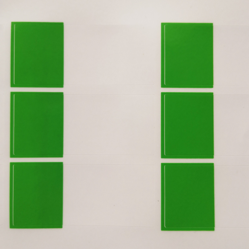 270 шт./лот 58x25 мм Рука обмотки сети наклейки на сетевой кабель, водонепроницаемый и прочный для когда-либо использования, пункт № HT05 - Цвет: green