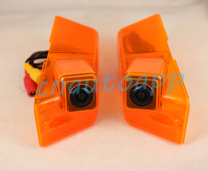 Rear View Mirror Camera Car Side Camera Ccd For Mercedes