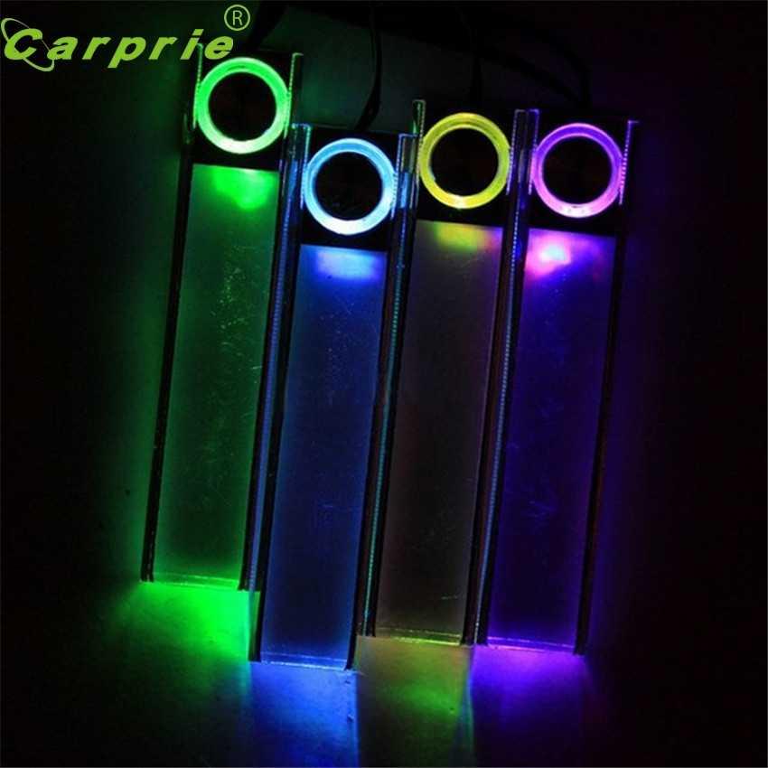 CARPRIE супер Прямая поставка 12 В 4 в 1 Автомобильная Зарядка светодиод интерьер украшение пол декоративный светильник цвета mar28 p30