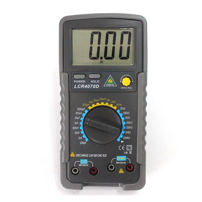 Digital Multimeter digital bridge Multimetro Capacitance Inductance Meter uyigao ua78d digital multimeter resistance capacitance inductance lcr multi meter tester with backlight