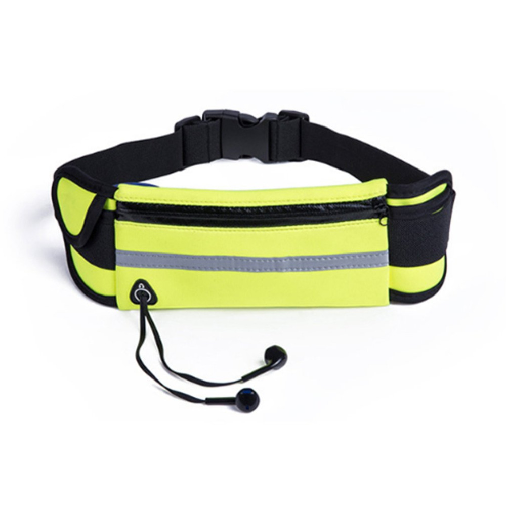 Outdoor Waterproof Men Women Running Waist Bag Fitness Packs Mobile Phone Holder Jogging Sports Running Belt Water Bags