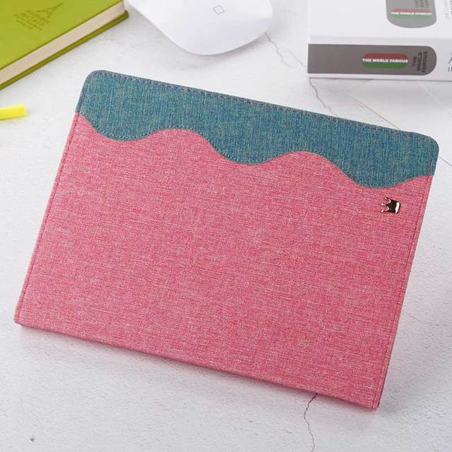Wave Design Canvas Case for iPad 4