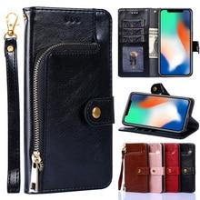 Zipper Leather Flip Case for Samsung Galaxy J2 J3 J4 + J5 J6 J7 J8 2015 2016 2017 Pro 2018 Prime J7 Core Cover Wallet Book Case 3d butterfly leather flip wallet case for samsung galaxy j8 j7 j6 j5 j4 j3 j2 j1 2016 2017 2018 plus prime pro core phone cover