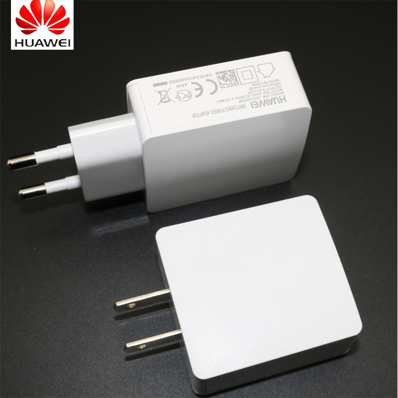 Original EU/US Wall Charger For Huawei Ascend P6 P7 P8 Honor 3C 3X 6 Plus Mate 7 5V/2A Usb Travel Adapter + Micro Usb Data Cable