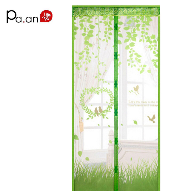 Summer high-grade magnetic Ruansha mosquito curtain screen door mosquito net wear free magnetic curtain of Salmonella