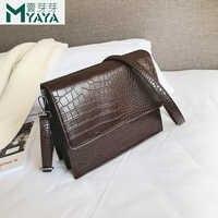 Bolsa Mujer sacs pour femmes 2019 sacs à main de luxe femmes sacs Designer motif Crocodile en cuir sac à bandoulière sac à main