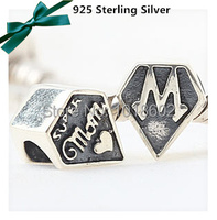 100 925 Sterling Silver Women Jewelry Pendant Gift For Mother S Day European Beads For Fashion