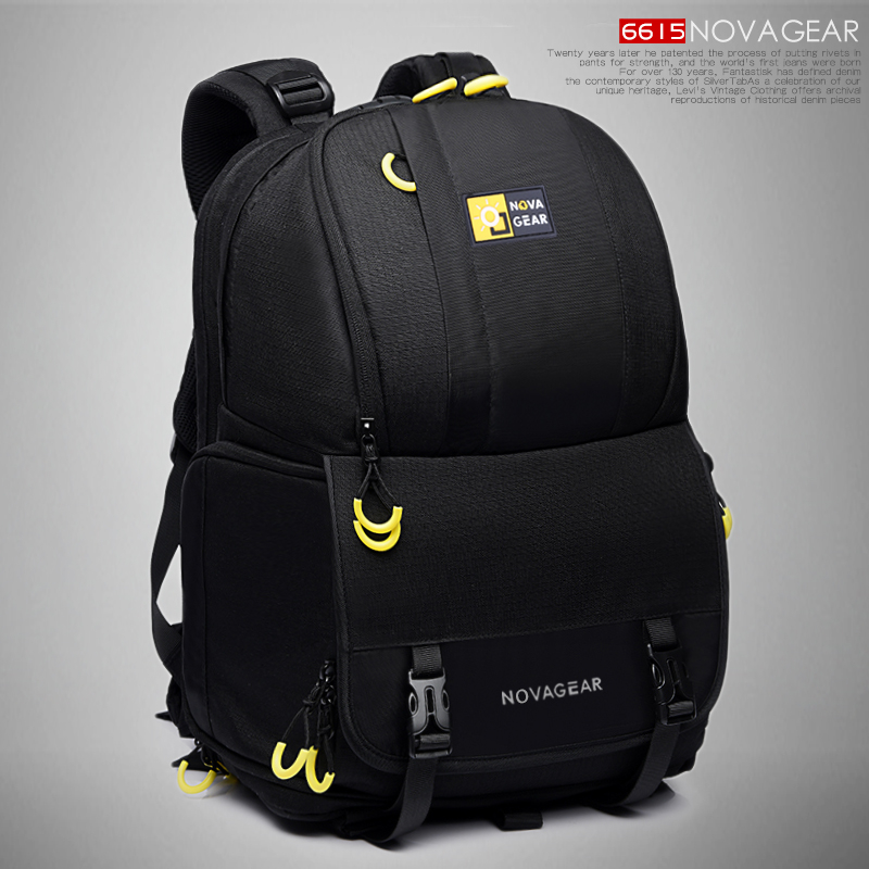 NOVAGEAR 6615 DSLR Camera Bag Photo Bag Camera Backpack Universal Large Capacity Travel Camera Backpack For