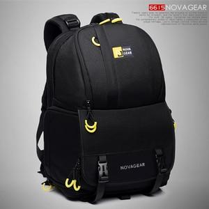 Image 1 - NOVAGEAR 6615 DSLR Camera Bag Photo Bag Camera Backpack Universal Large Capacity Travel Camera Backpack For Canon/Nikon Camera