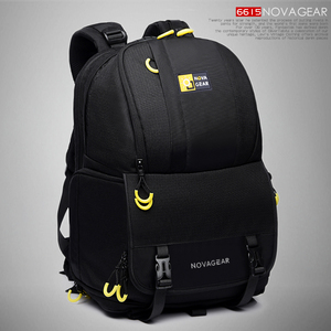 Image 1 - Сумка для камеры NOVAGEAR 6615 DSLR, рюкзак для камеры, универсальный вместительный дорожный рюкзак для камеры Canon/Nikon