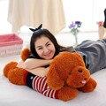 80cm 110cm big size Hot Sale New Arrived Teddy Dog Plush Toy Cute Brown Dog Soft Stuffed Doll Dog Plush Toy With Scarf