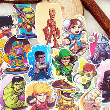 hot deal buy 25pcs/bag cute film and television roles album scrapbook waterproof decoration stickers diy handmade gift scrapbooking sticker