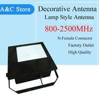 800 ~ 2500 мГц направленная антенна 10dbi декоративный светильник стиль антенна для CDMA GSM DCS aws WCDMA 2 г 3 г 4g LTE антенны N женский
