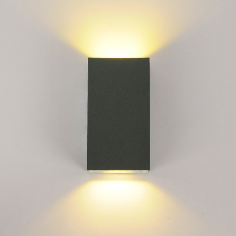 Aliexpress Buy 6W Led Wall Sconces Lights IP65 Surface Mounted Outdoor Cube Lamp Waterproof Up Down For Home Dining Room Bedroom KTV Bar From