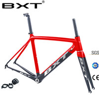 Free shipping Ultralight road bike frame carbon Di2 Mechanical racing bicycle carbon road frame +road fork+seatpost+headset