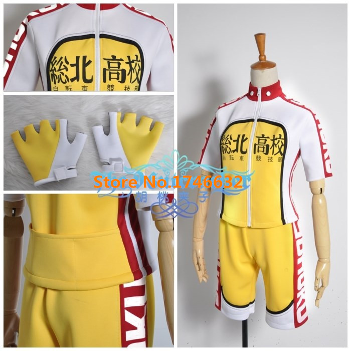 c73f621ab Game Anime Yowamushi Pedal Onoda Sakamichi Uniforms Suit Cosplay Costume  Jersey + Gloves-in Anime Costumes from Novelty   Special Use on  Aliexpress.com ...