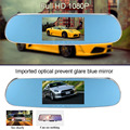 "5"" 1080P Android Smart System Built in GPS Navigation WIFI Car Rearview Mirror Dual Lens Car DVR Camera Recorder with Free Map"