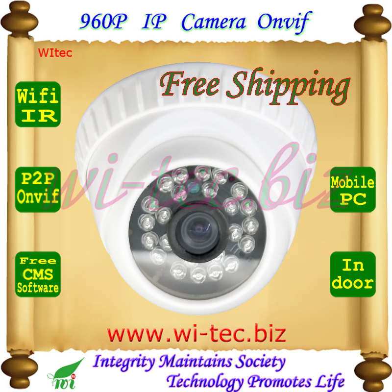 Built-in WIFI 1.3MP IR Dome HD 1280*960P Indoor IP Camera Security CCTV Surveillance ONVIF P2P IP Cam 2MP Lens 1080p 2 0mp 960p 1 3mp 720p 1 0mp 4led ir dome ip camera indoor cctv camera onvif night vision p2p ip security cam ir cut 2 8mm