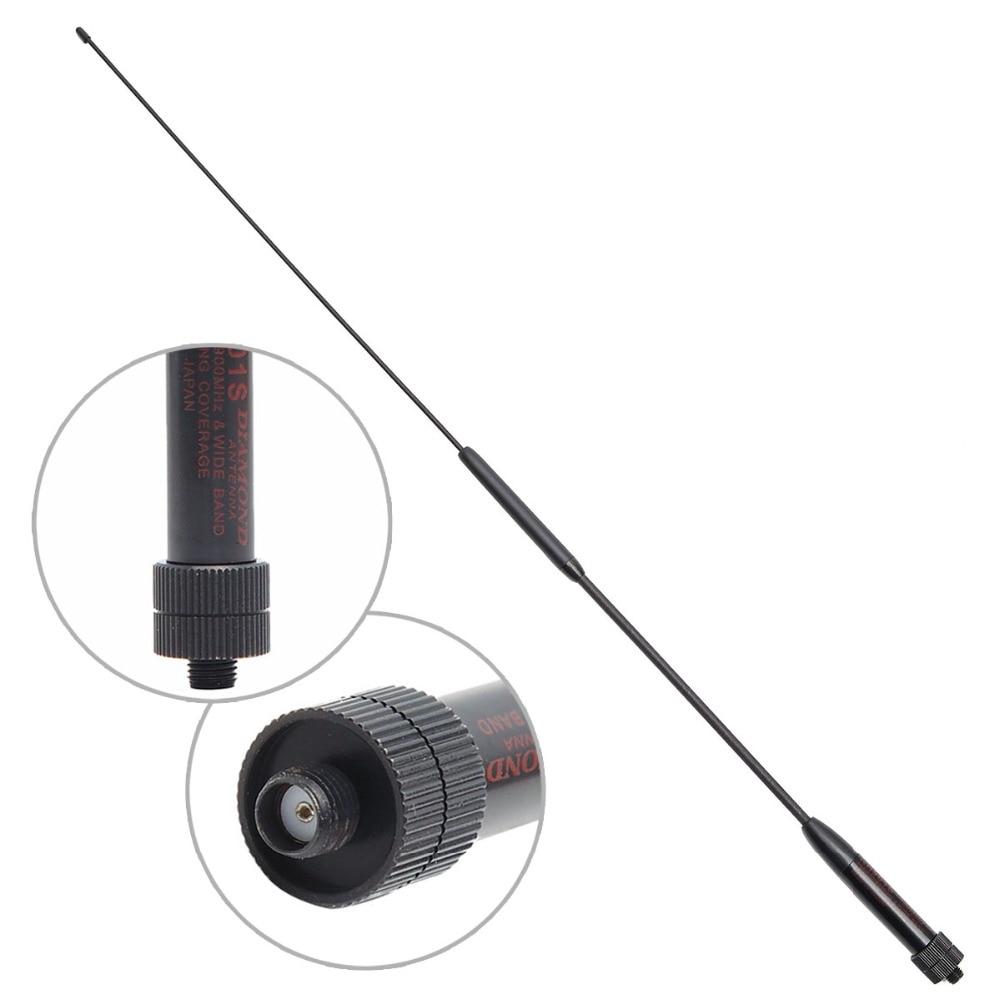 RH901S SMA Female High Gain Dual Band Long Antenna for Baofeng UV-5R Radios