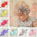 2017 New Baby Headband Arcos Knot Vestidos Haar Accessoires Meninas Do Bebê Cabelo Do Bebê Faixas de Cabelo Menina Acessórios Para o Cabelo