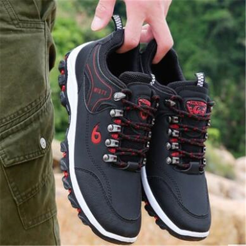 Sneakers men's casual shoes new outdoor shoes travel mountaineering non-slip shock absorber shoes wear low to help walking shoes 2