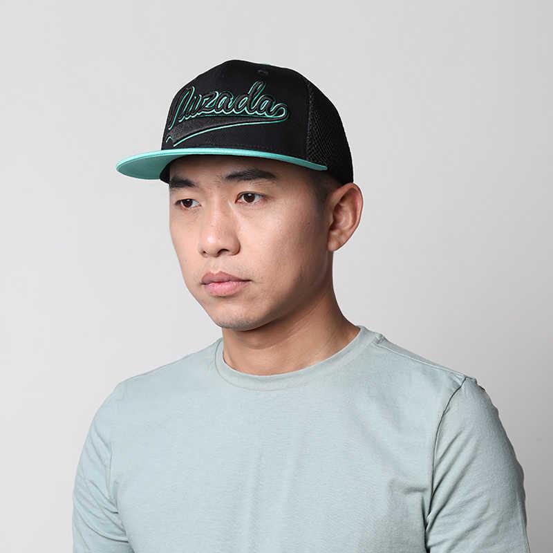 Новинка 2019 года; оригинальные мужские и женские кепки в стиле хип-хоп с вышивкой; хлопковые сетчатые шляпы с дышащей сеткой; сезон весна-лето