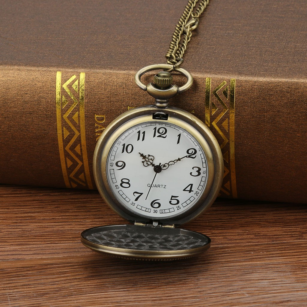 a167d89a50ebb Nostalgic Classic Personalized Pattern Steampunk Vintage Quartz Roman  Numerals Hollow Pocket Watch clock Gift Dropshipping-in Pocket   Fob Watches  from ...