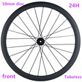 700c углеродное колесо 50x25 мм  бескамерное дисковое колесо 765 г  переднее Велосипедное колесо D411SB 100x15 мм  дисковый тормоз для дорожного велосип...