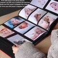 Fremdness 6 600 calidad de cuero álbum de fotos libro álbum del bebé de gran capacidad