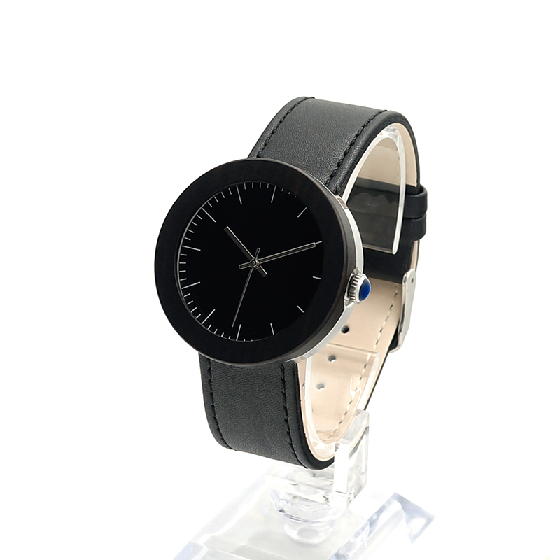 BOBO BIRD Brand Wood Watch With Genuine Leather Band &