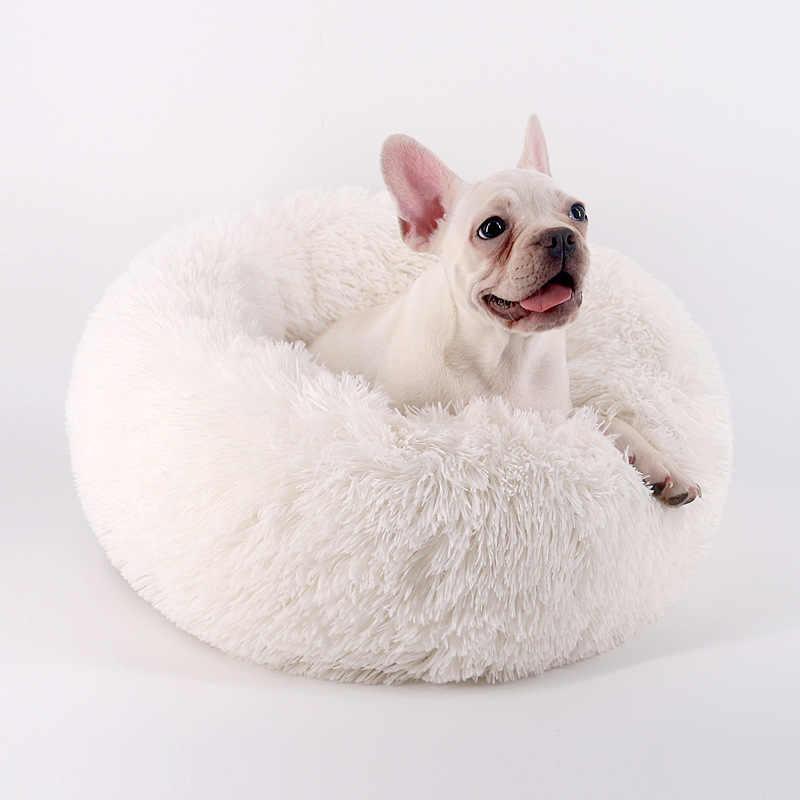 Супер мягкая подстилка для животных Кошки диван коврик для собак зимние коврики дом для кошки милый мягкий плюшевый Кот подстилка для домашнего питомца кошка глубокая спальная кровать Hondenmand